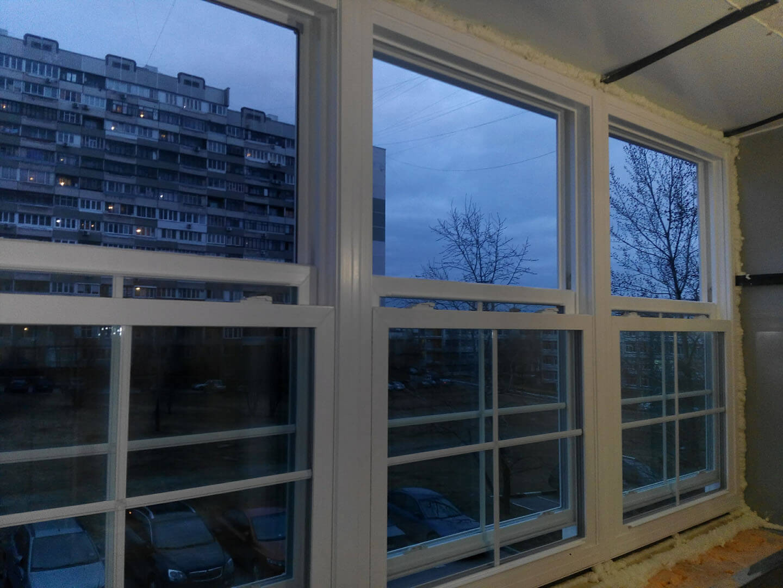 Остекление балконов и лоджий цены в москве под ключ.